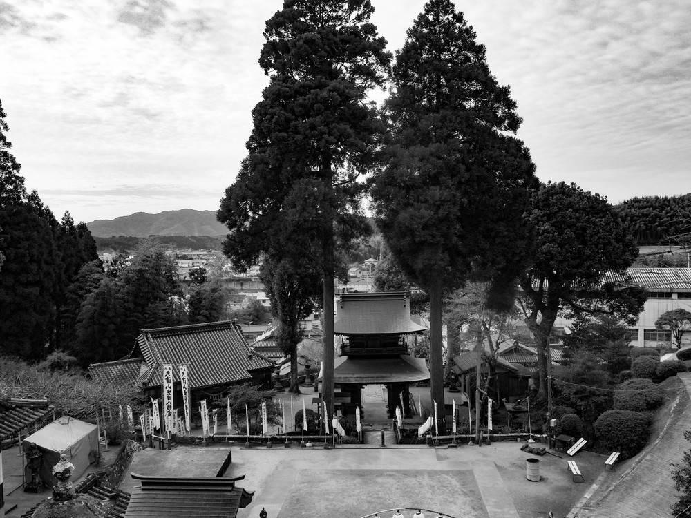 大津山神社からの景色少し見上げてみた