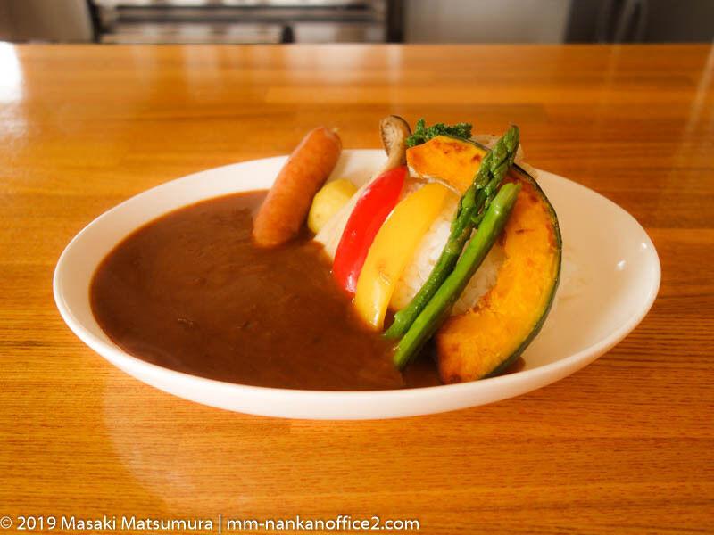 ベアーズカフェさんの野菜カレー