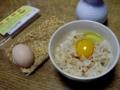 2010/04/06 烏骨鶏卵かけご飯
