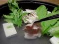 2013/11/01 豚しゃぶ鍋