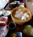 2014/04/06 能美ロッジ 刺身定食