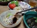 2014/08/01 豚しゃぶサラダ
