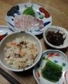 2014/09/25 アナゴの炊き込みご飯