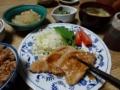 2015/1/8 豚肉生姜焼き