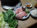 2015/11/04 豚しゃぶ鍋