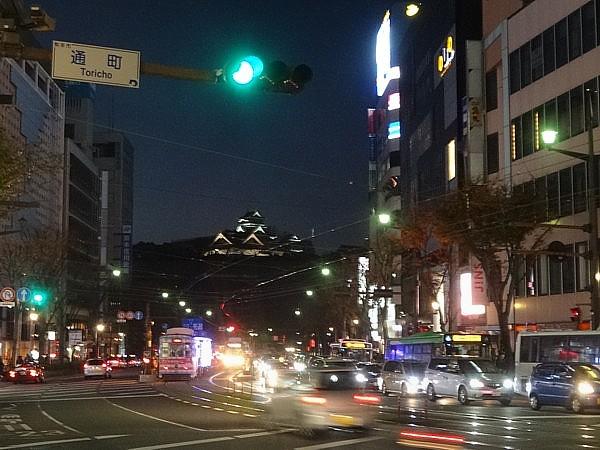 2015/12/12 熊本繁華街