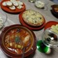2016/01/10 鶏肉のトマト煮、ゴボウのキッシュ