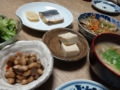 2016/03/09 高野豆腐、大豆の煮もの