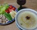 2016/04/30 タマネギと押し麦のスープ