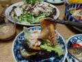 2016/06/16 豚しゃぶサラダ