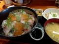 2016/10/07 ミンナ食堂 海鮮丼