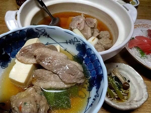 2016/12/30 鴨鍋