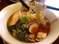2017/02/18 麺家市川商店 はまぐりの柚子しょうゆらぁ麺