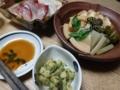 2017/05/06 タケノコの煮物、木の芽和え