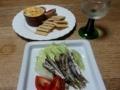 2017/07/06 オイルサーディン、チーズクラッカー