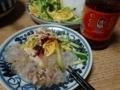 2017/07/09 麻婆豆腐、春雨サラダ
