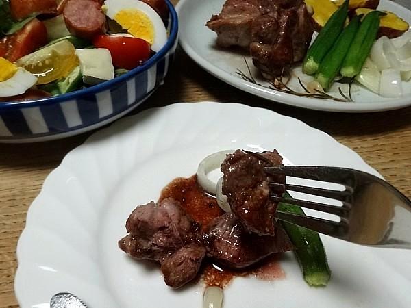 2017/07/21 豚肉と野菜のオーブン焼き