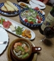 2017/08/30 ワインと肴