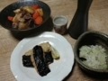 2018/01/14 燗酒&山芋摺り流し焼き