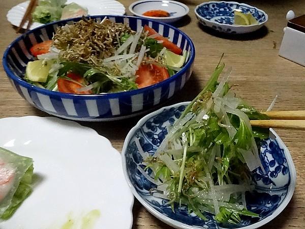 2018/02/09 ジャコのサラダ
