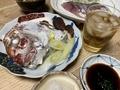 2020/04/24 晩飯 鯛の骨蒸し