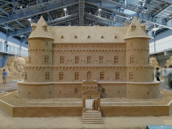 2018砂の美術館イーエスコウ城