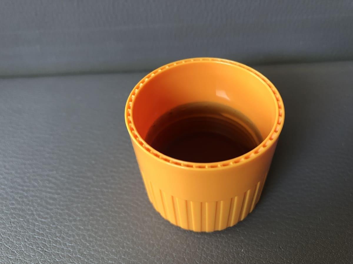 容器のキャップ