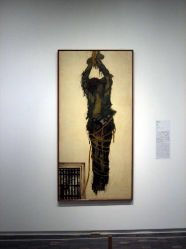 津田青楓「犠牲者」1933年、油彩 - 「蟹工船」日本丸から、21世紀の ...