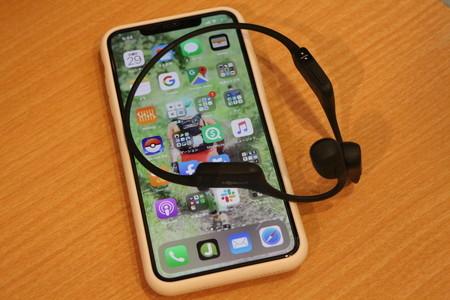 ラジオコンテンツ iPhone 骨伝導方式ワイヤレスイヤホン