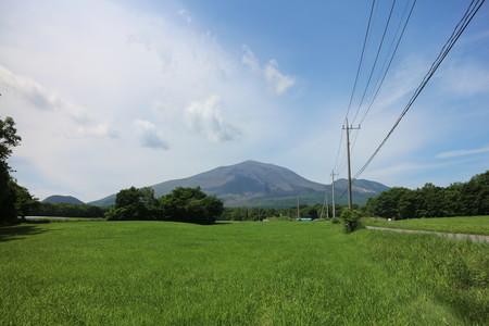 北軽井沢からの浅間山