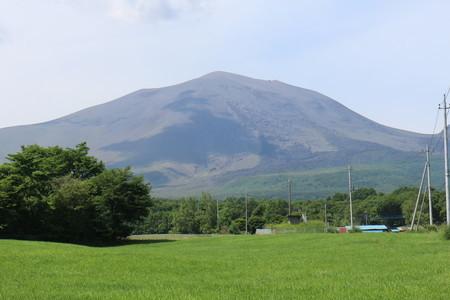 北軽井沢からの浅間山②