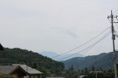 六合の里からの浅間山