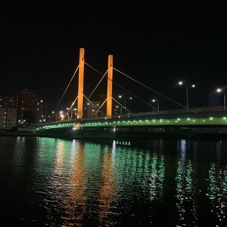 いつもの風景 秋の空気 新大橋