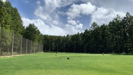 新越ゴルフパーク 打ちっ放し ゴルフ練習 2日目