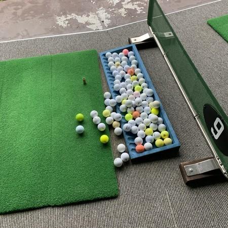 新越ゴルフパーク 打ちっ放し ゴルフ練習