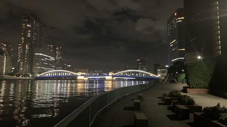 勝鬨橋 ライトアップ