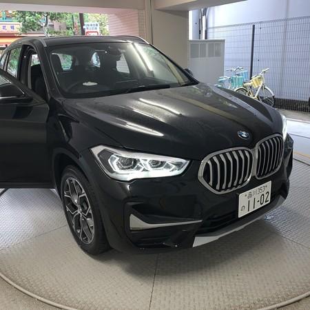 新しい相棒 BMW X1d