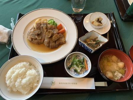 お昼 生姜焼き定食