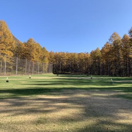 練習日より 信越ゴルフパーク