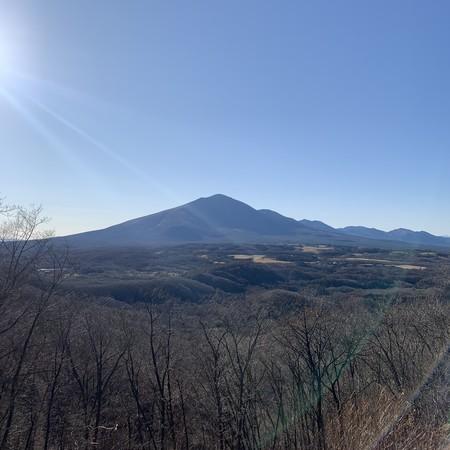 初冬 浅間山 もうすぐ冬