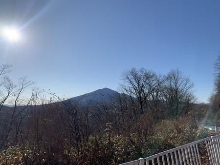 二度上げ峠 浅間山