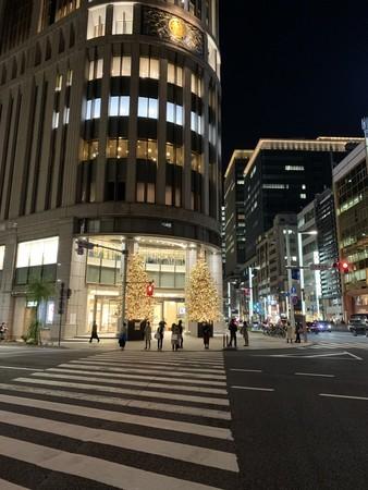 三越新館 クリスマスツリー