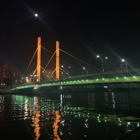 新大橋 月