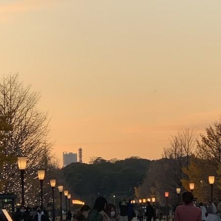 皇居前 東京マラソン ゴール近く