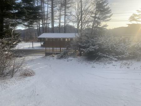積雪5センチ