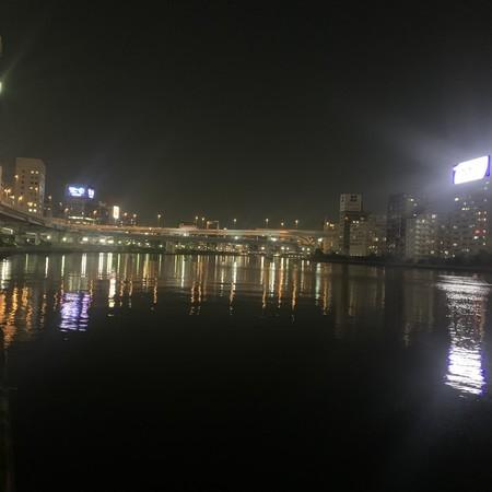 隅田川 川面