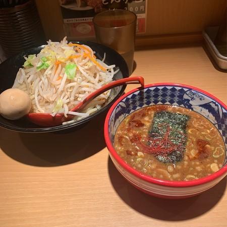 濃厚魚介味噌つけ麺