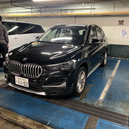BMW 洗車後