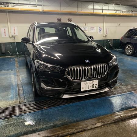 BMW 融雪剤 水洗い