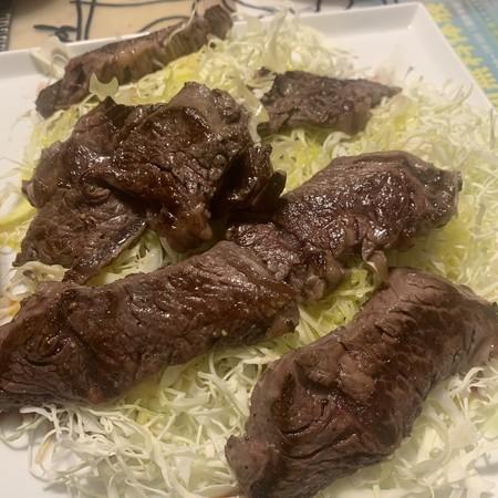 牛ハラミ焼き肉